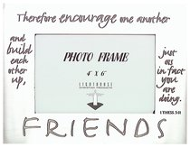 Pewter Photo Frame: Friends