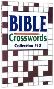 Bible Crosswords Collection 12