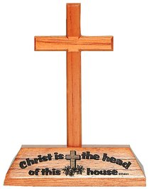 Cross on Stand: Christ is the Head