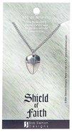 Pendant: Shield of Faith Small (Lead-free Pewter)