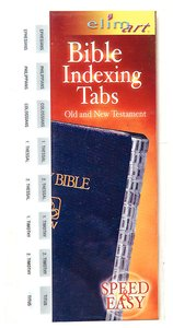 Bible Indexing Tabs Silver