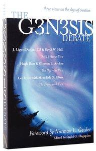 The Genesis Debate