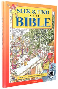 Seek & Find in the Bible Incl CD Rom