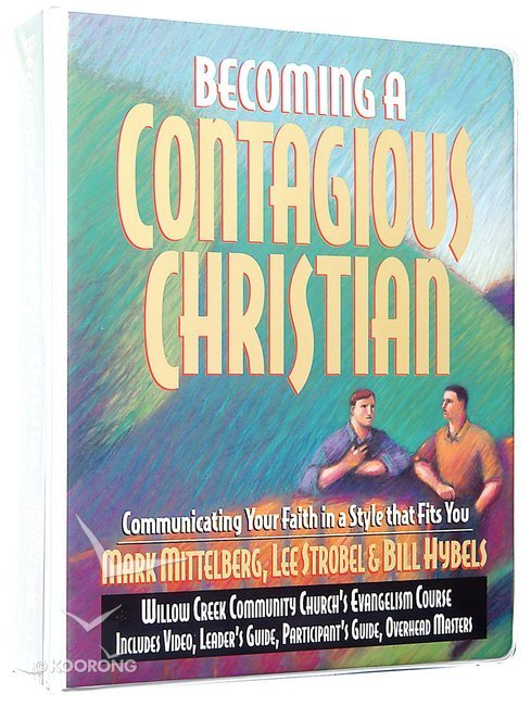 Buy Becoming A Contagious Christian Curriculum Kit Itpe By Bill