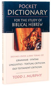 Pocket Dictionary For the Study of Biblical Hebrew (Ivp Pocket Reference Series)
