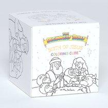 Birth of Jesus Coloring Cube