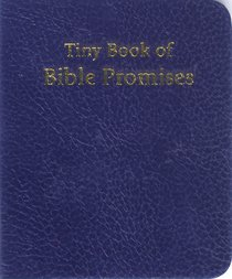 Novelty: Tiny Book of Bible Promises Blue