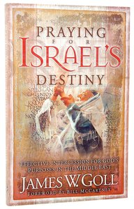 Praying For Israels Destiny