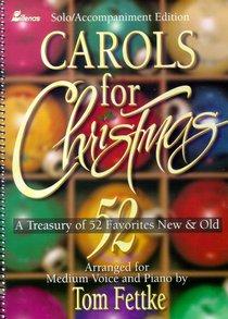 Carols For Christmas (Accompaniment) (Music Book)