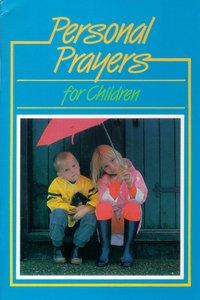 Personal Prayers For Children