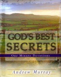 One Minute Devotions: Gods Best Secrets