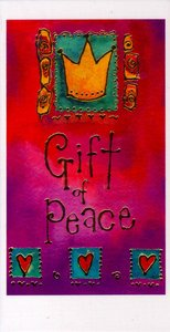 Christmas Pack: Gift of Peace Gold Foiled