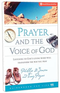Prayer and the Voice of God (Guidebooks For Life Series)