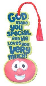 Tassel Bookmark: Veggie Tales Bob Tomato