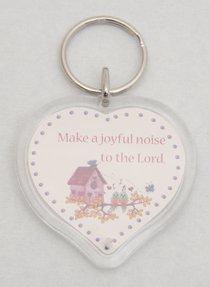 Plastic Keyring: Make a Joyful Noise
