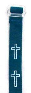 Wristband: Cross Green