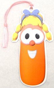 Tassel Bookmark: Veggie Tales Laura Carrot
