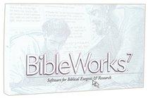 Bible Works 7.0 CDROM Win