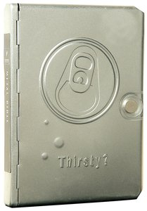 NLT Metal Bible Silver Thirsty? (Black Letter Edition) (1st Ed.)
