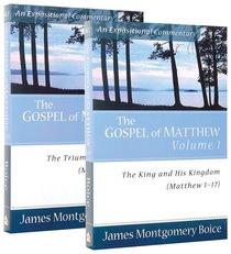Gospel of Matthew 2-Pack (2 Vols) (Expositional Commentary Series)