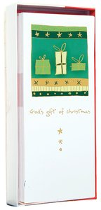 Christmas Boxed Cards: Gods Gift Gold Foiled