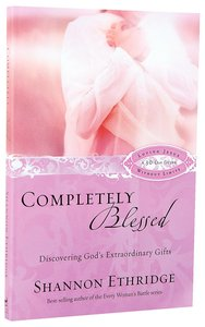 Completely Blessed (30 Daily Readings)