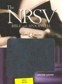 NRSV Pocket Edition With Apocrypha Black