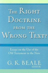 The Right Doctrine From the Wrong Text?