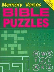 Bible Puzzles: Memory Verses