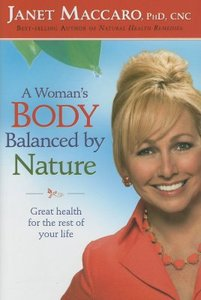A Womans Body Balanced By Nature