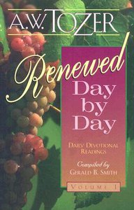 Renewed Day By Day (Vol 1)