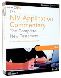 NIV Application Commentary 6.0 CDROM Win Complete New Testament