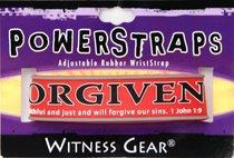 Rubber Wristband: Forgiven
