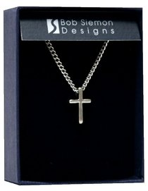 Pendant: Cross Basic Small (Pewter)