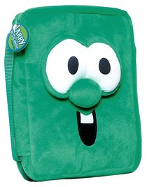Bible Cover Veggie Tales Larry Plush Green Medium