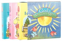 Gods Wonderful World 3 Book Set (Things I Can See; Be Happy, Friends I Enjoy)