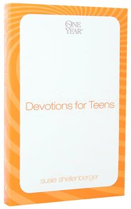 Devotions For Teens (One Year Series)