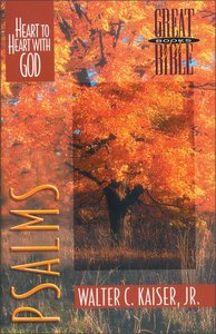 Psalms (Great Books Of The Bible Series)