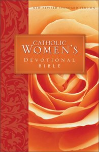 NRSV Catholic Womens Devotional Bible (Black Letter Edition)