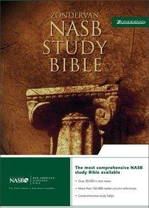 NASB Zondervan Study Black