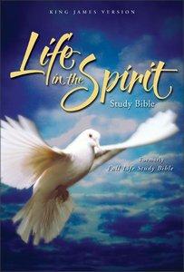 KJV Life in the Spirit Study Bible Black Top Grain Indexed
