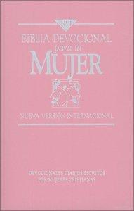 Nvi Spanish Womens Devotional Bible Nvi Devocional Para La Mujer Pink