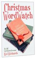 Christmas Word Watch