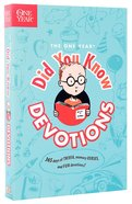 Did You Know Devotions (One Year Series)