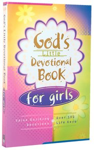 Gods Little Devotional Book For Girls
