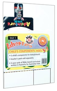 Kids@Church 01: Ad1 Ages 5-7 Child Components (5 Pack) (Adventure) (Kids@church Curriculum Series)
