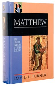 Matthew (Baker Exegetical Commentary On The New Testament Series)