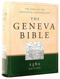 Geneva Bible 1560 Edition Green/Sand