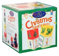 Christmas Story Blocks (Candle Bible For Toddlers Series)