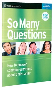 So Many Questions Revised Edition (Workbook)